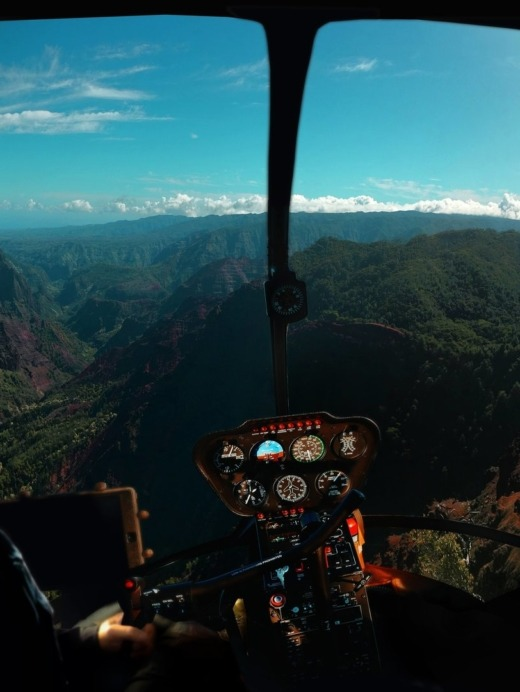 Enjoy the candidate experience ride: helicopter experience