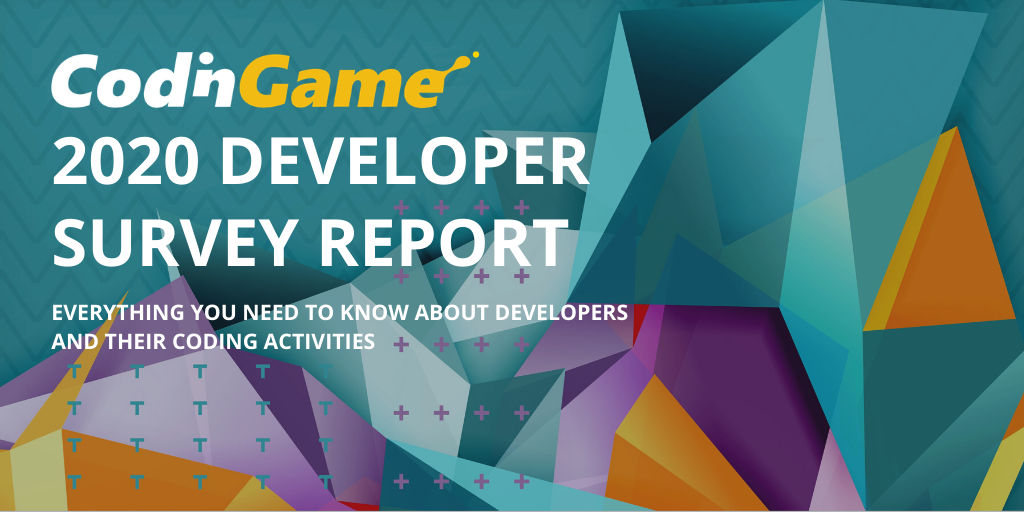 Illustration for CodinGame 2020 Developer Survey Report