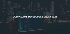 CodinGame 2021 Survey Cover